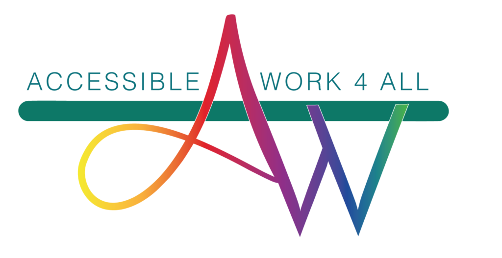 Logo Accessible Work 4 All